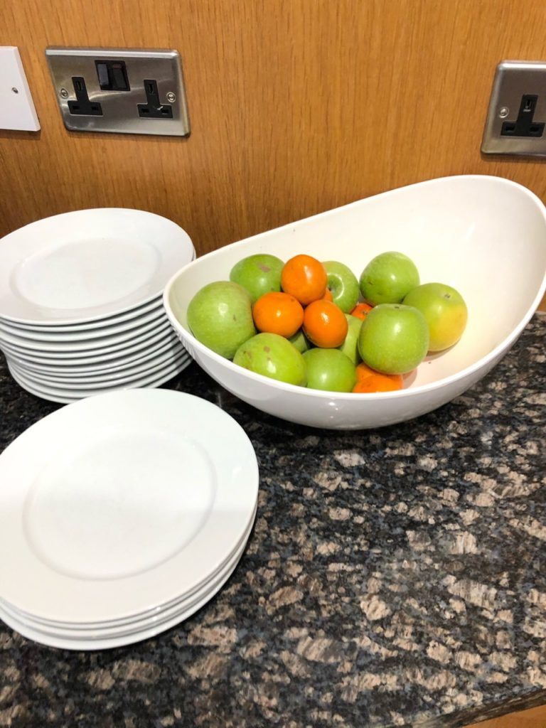 Fruit at Holiday Inn Express Poole