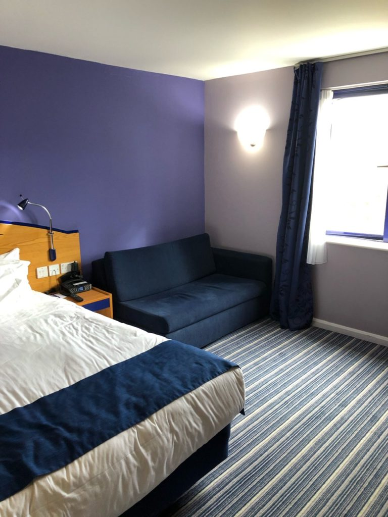 Sofa Bed at Holiday Inn Express Poole