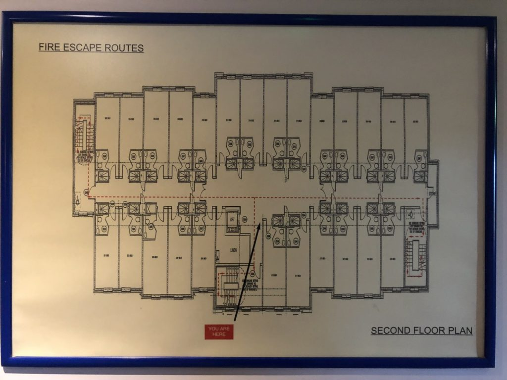 Floor plan at Holiday In Express Poole
