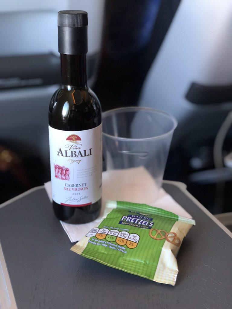 Wine in BA Premium Economy
