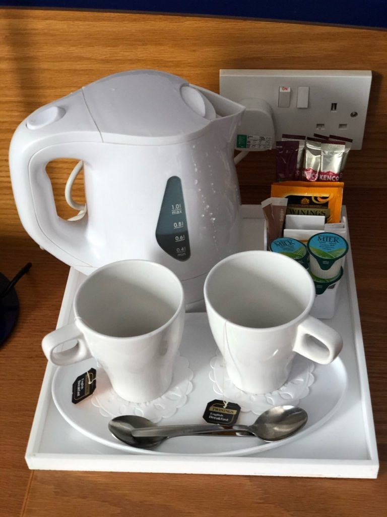 Tea & coffee at Holiday Inn Express Poole