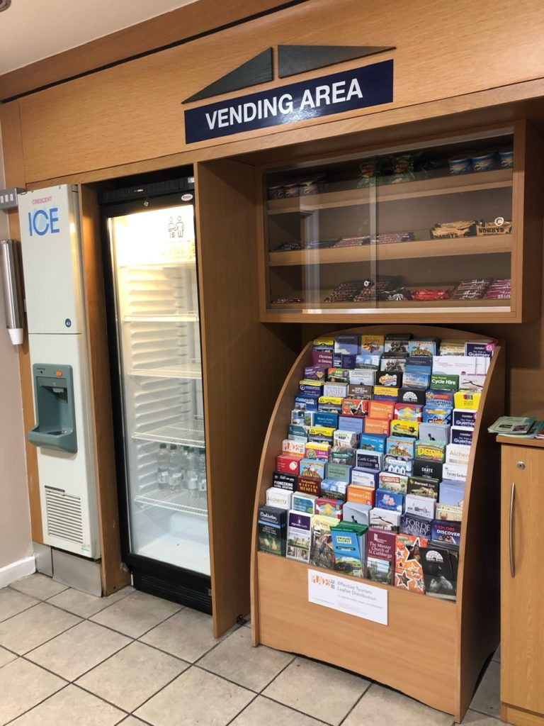 Vending area at Holiday Inn Express Poole