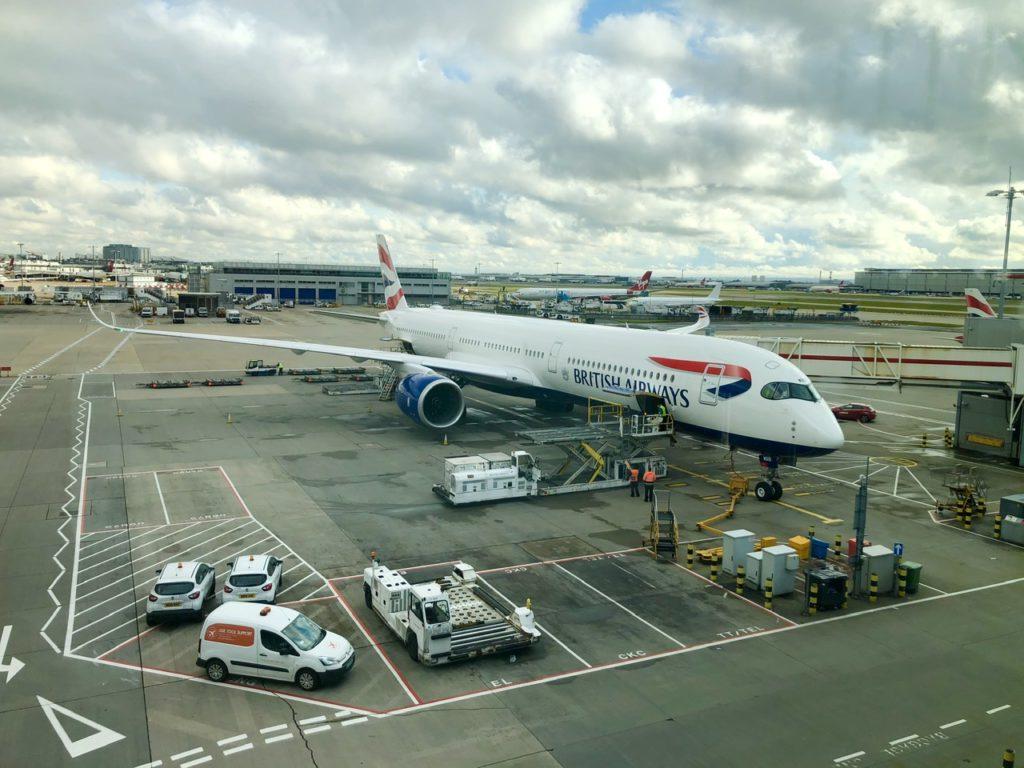 British Airways A350-1000 aircraft