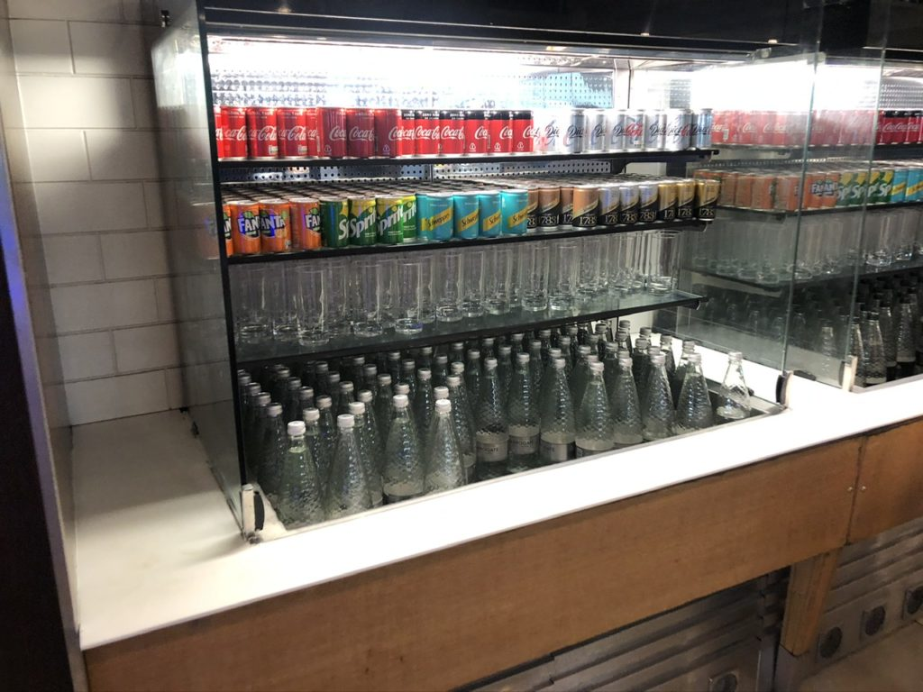 Soft drink options