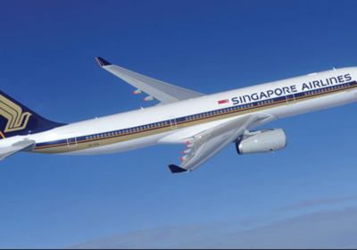 Singapore Airlines A330 aircraft