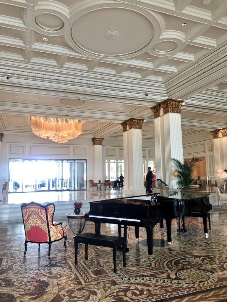 Piano at Mosaico Palazzo Versace Dubai