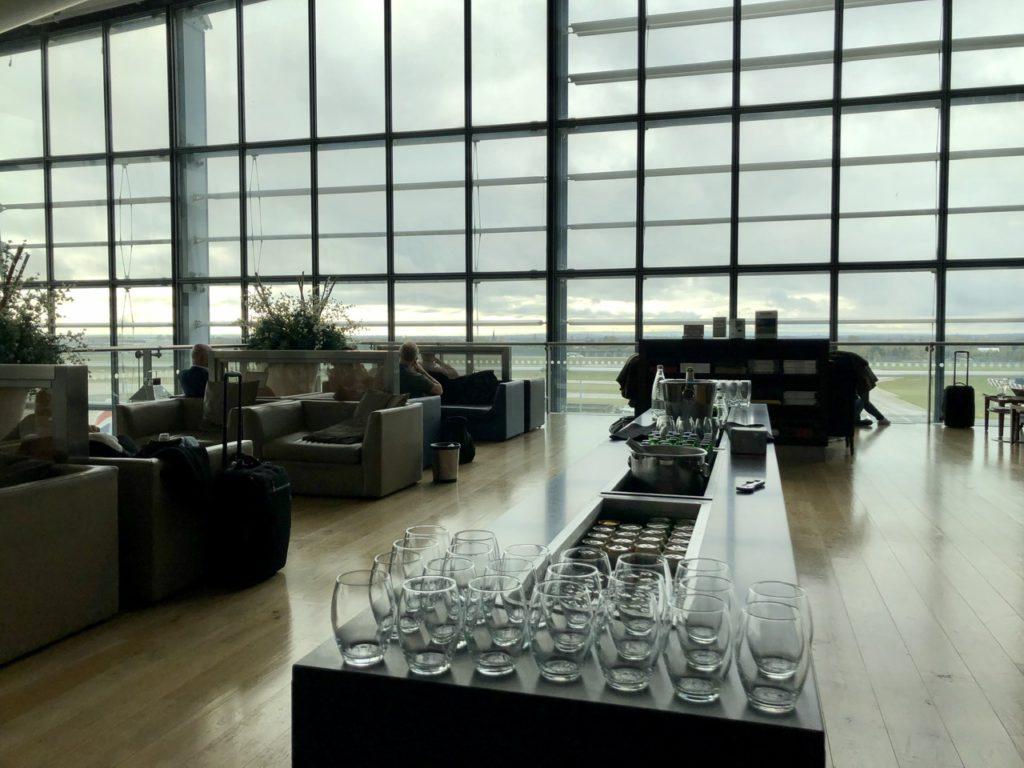 Terrace at BA Galleries First Lounge Heathrow