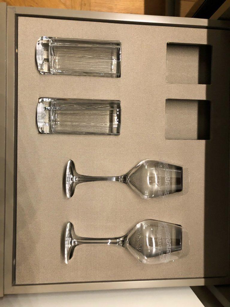 Suite amenities at Palazzo Versace Dubai