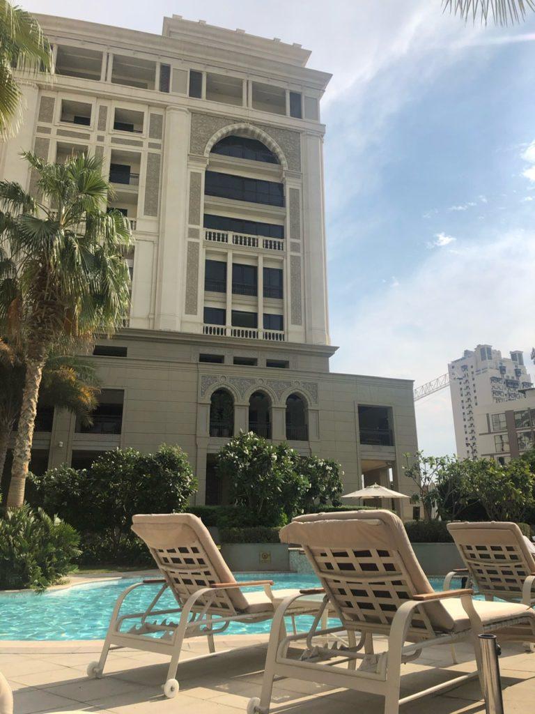 Pools at Palazzo Versace Dubai