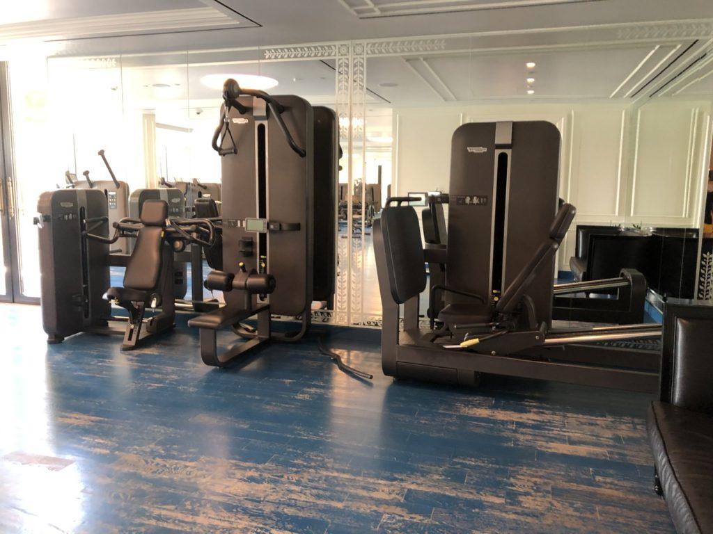 Gym at Palazzo Versace Dubai