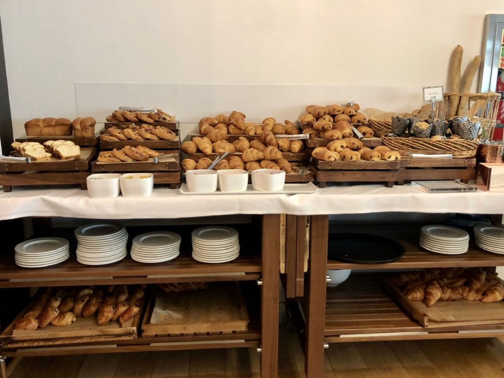 Grab & Go pastries at BA Galleries First Lounge Heathrow