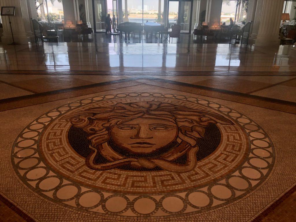 Mosaic at Palazzo Versace Dubai