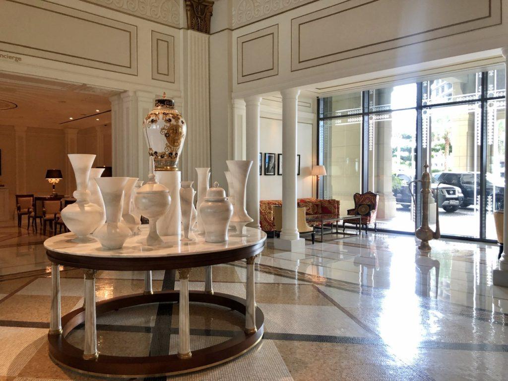 Atrium at Palazzo Versace Dubai