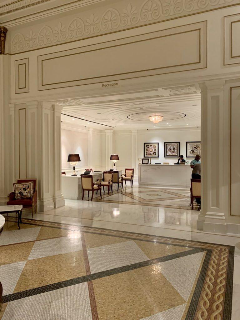 Check-in at Palazzo Versace Dubai
