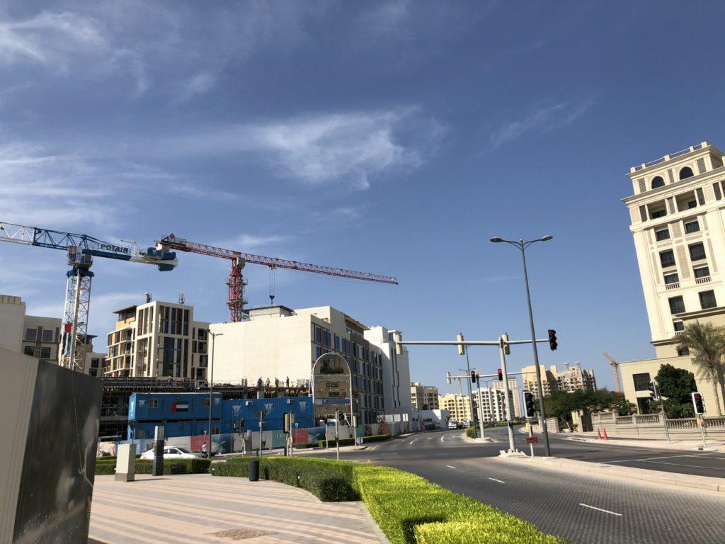 Location of Palazzo Versace Dubai