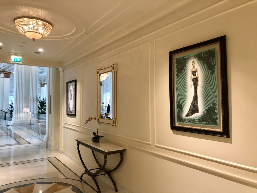 Decoration at Palazzo Versace Dubai