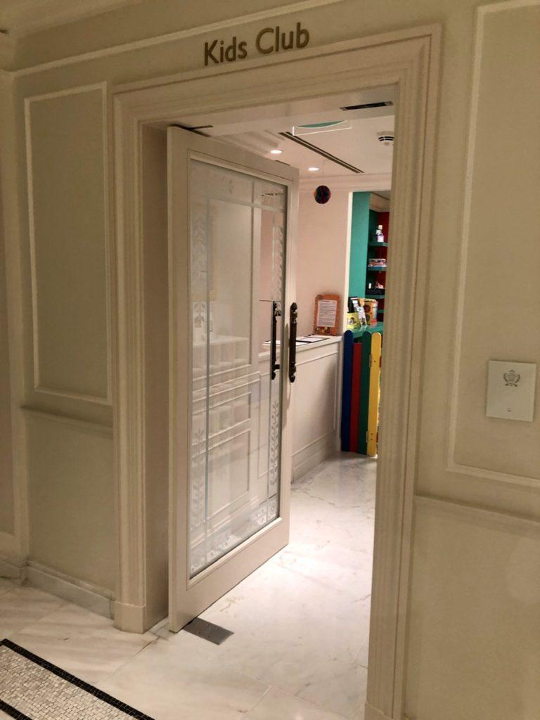 Kids club at Palazzo Versace Dubai