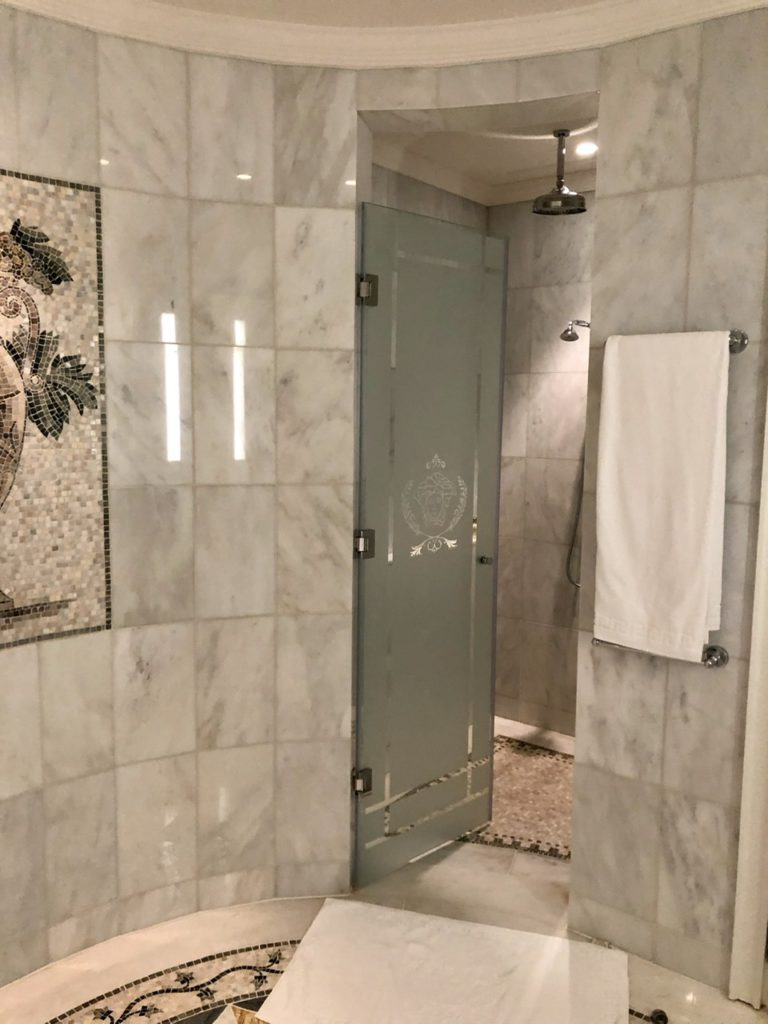 Suite Bathroom at Palazzo Versace Dubai