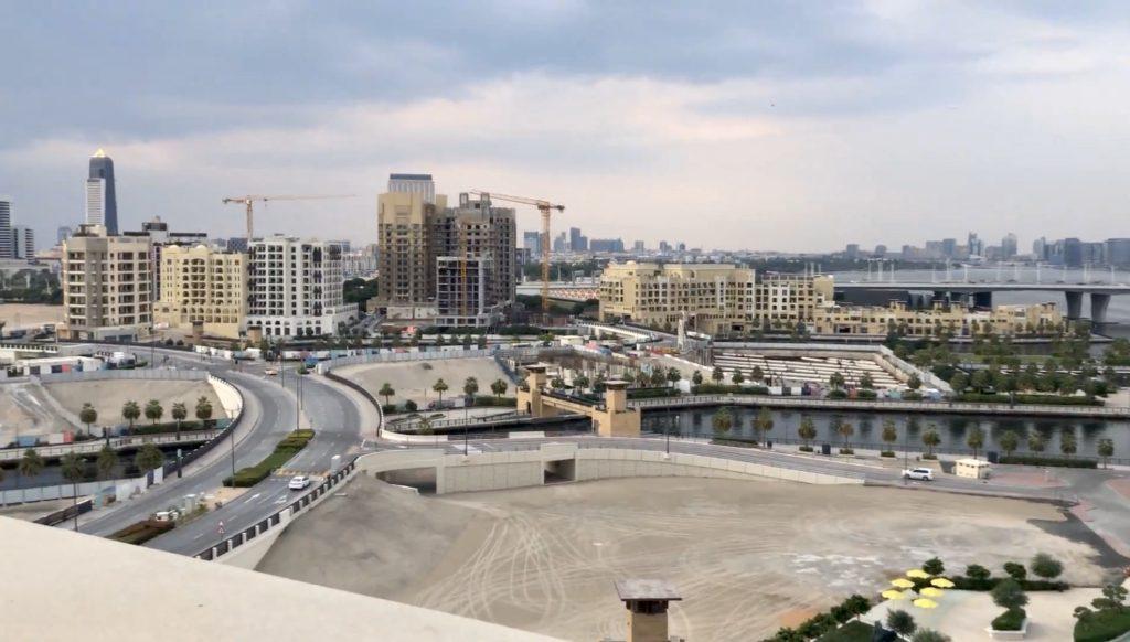 Area around Palazzo Versace Dubai