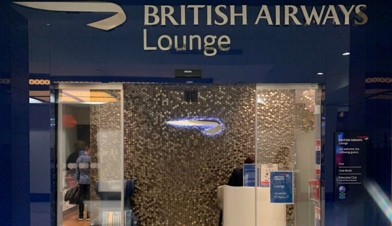 British Airways Dubai Lounge