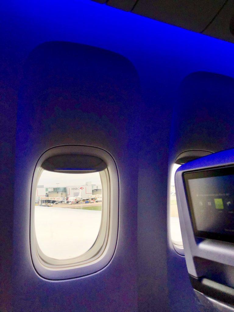 BA Premium Economy cabin