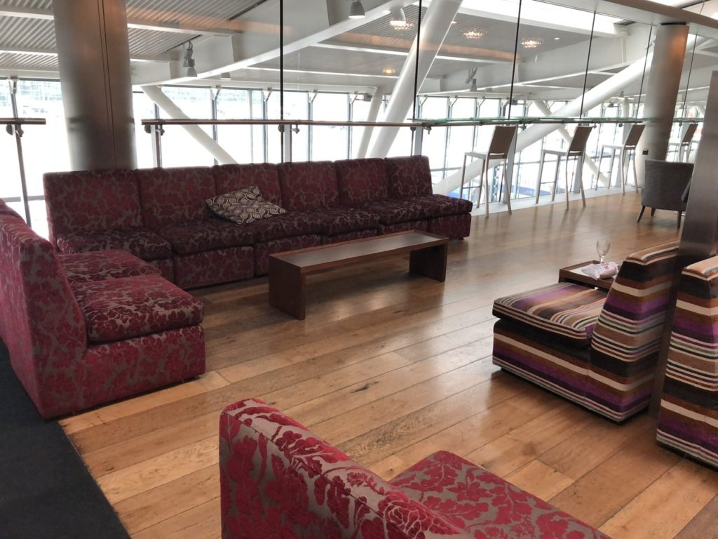 BA Club Lounge at Terminal 5B