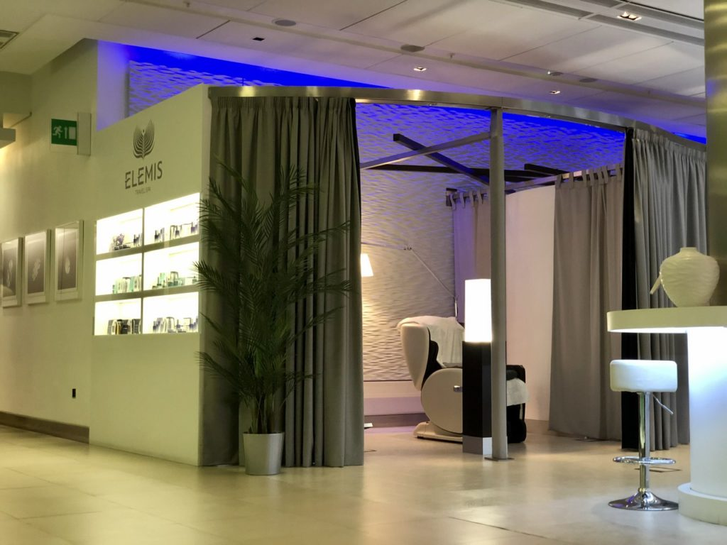 Elemis Travel Spa at BA Arrivals Lounge Terminal 5