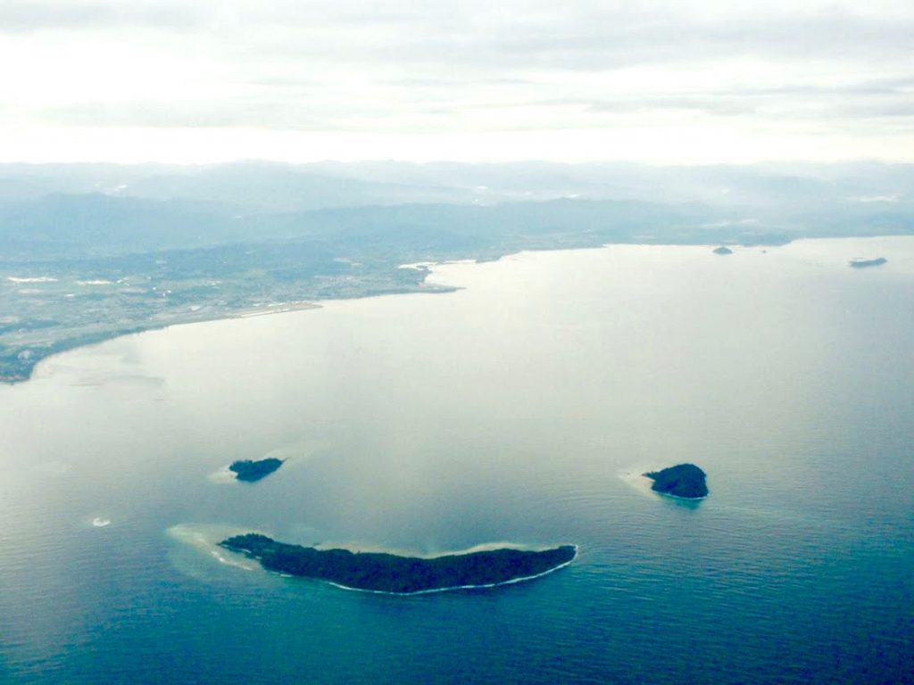 The smiley islands, Kota Kinabalu
