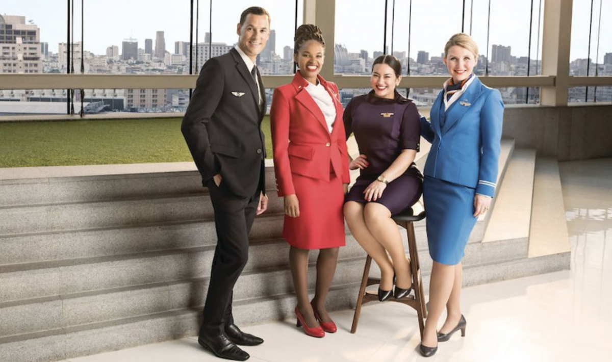 Virgin, Delta, Air France & KLM cabin crew