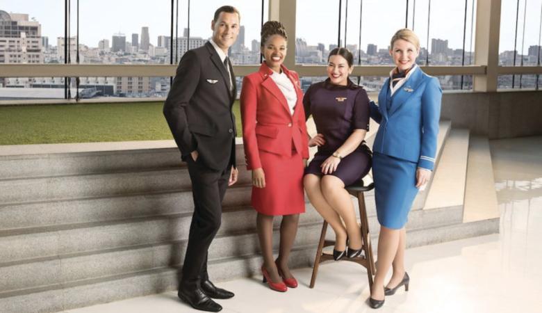 Virgin, Delta, Air France & KLM cabin crew