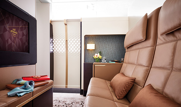 Etihad Airways First Class Apartment before coronavirus changed the world