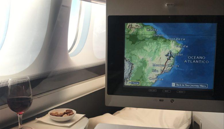 BA 777 First São Paulo to London