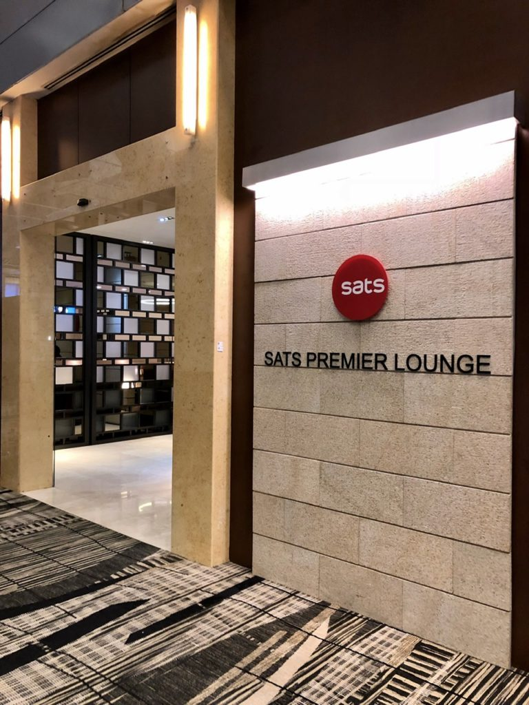 Sats Premier Lounge, Singapore Changi Airport