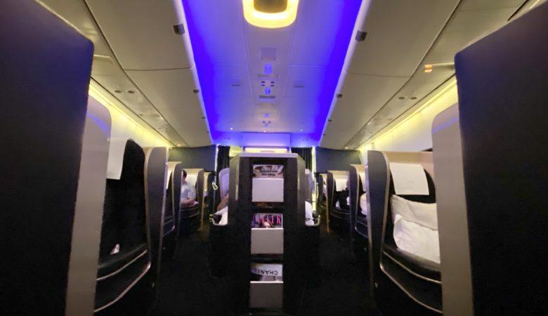 BA 747 First cabin