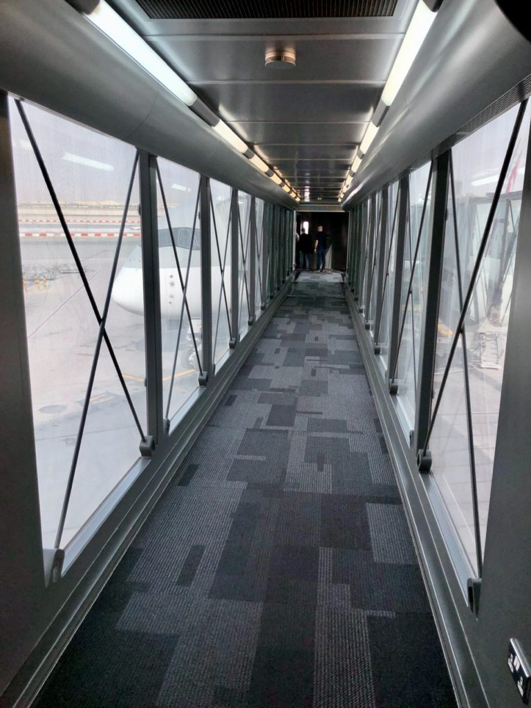 Air bridge at Doha Airport