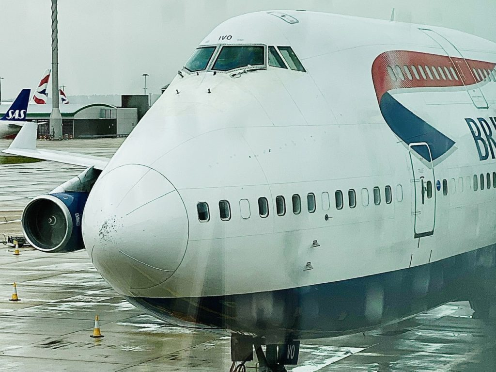 BA 747-400 G-CIVO