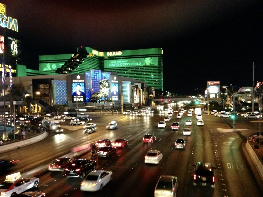 The MGM Grand Hotel & Casino on The Strip, Las Vegas