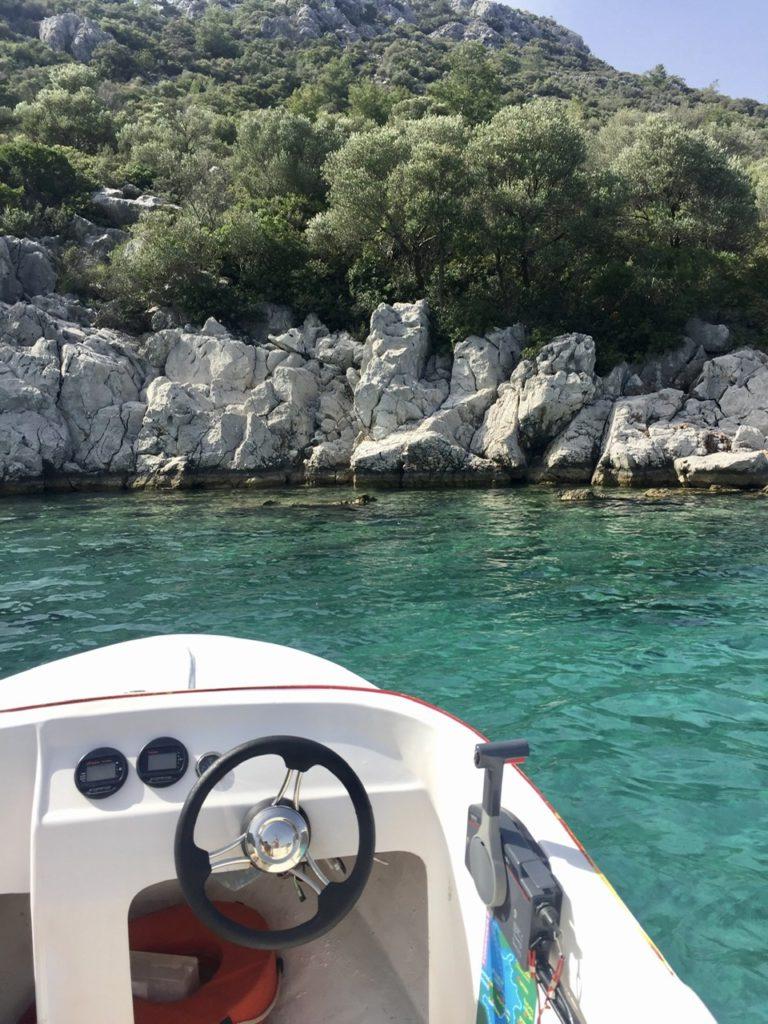 Speedboat in Mamaris, Turkey