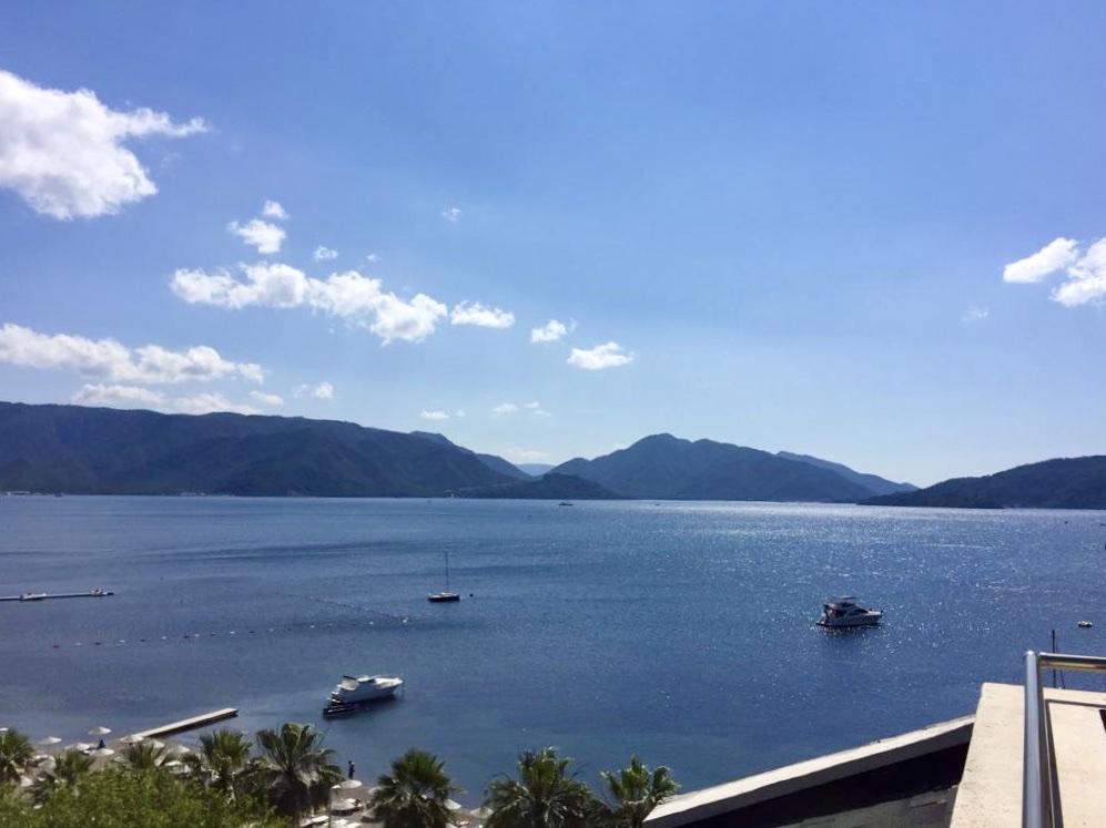 View from Cettia Beach Hotel, Mamaris, Turkey