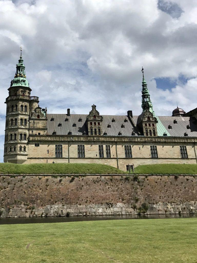 Helsingor Castle, just outside Copenhagen, Denmark