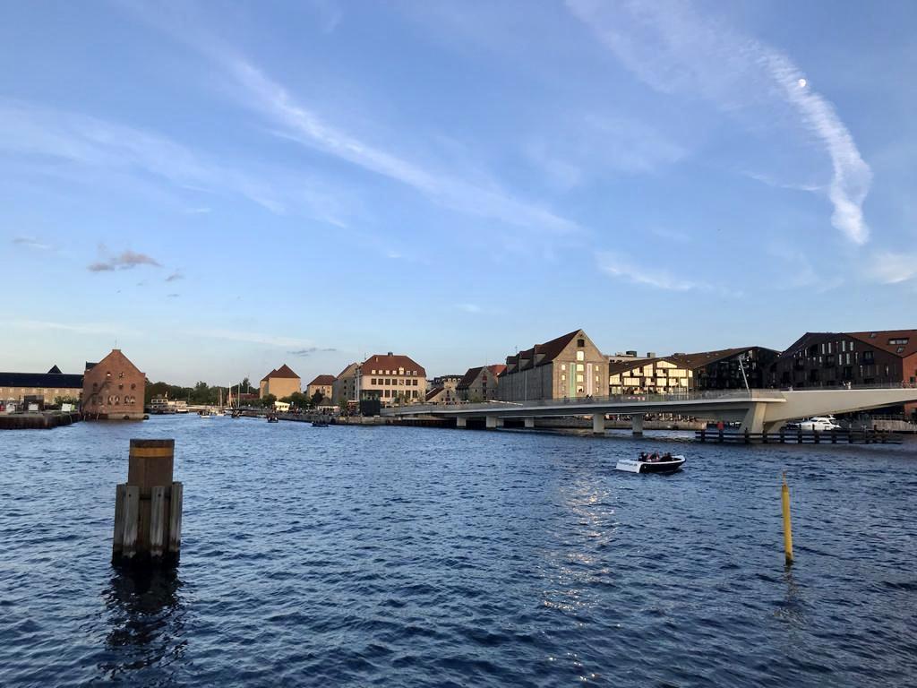 The harbour area in Copenhagen, Denmark