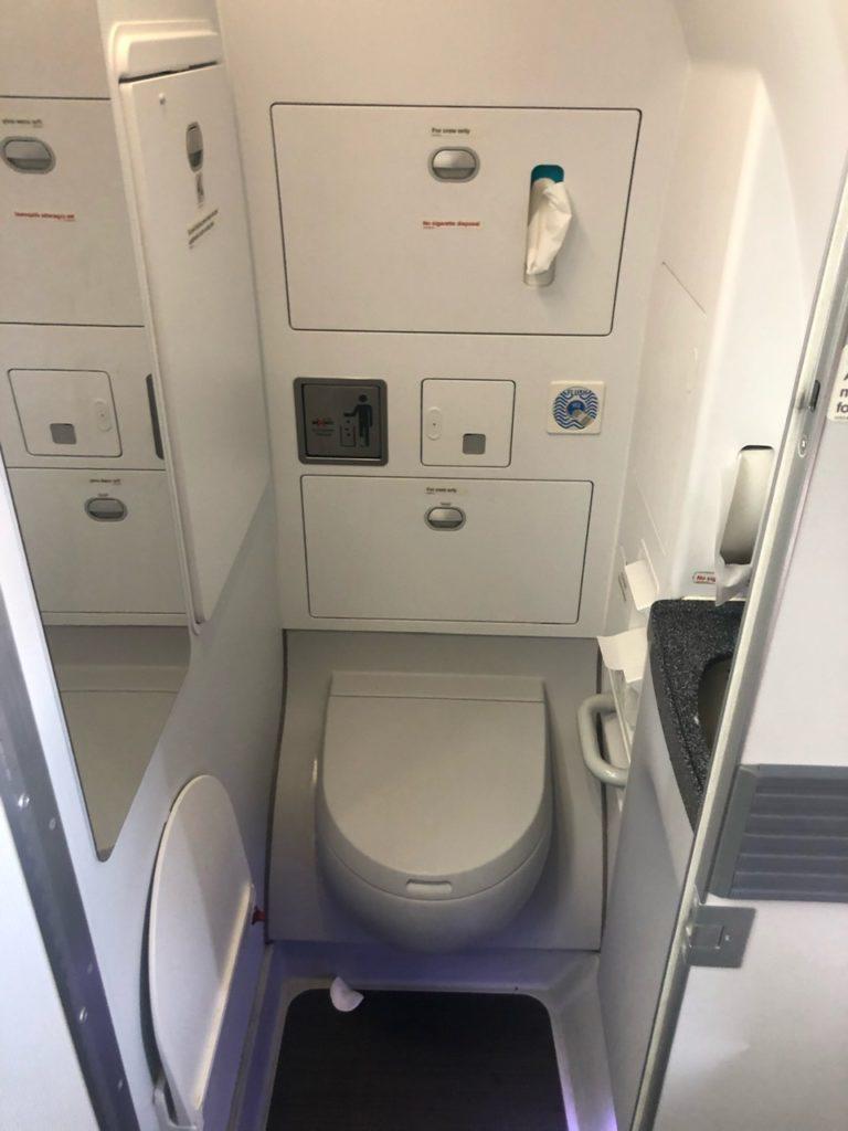 Toilet on Easyjet A320