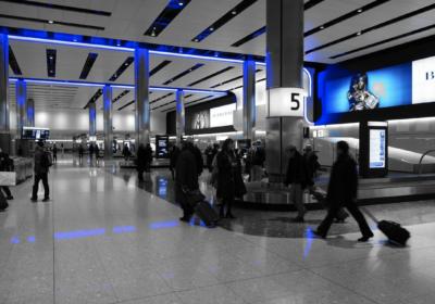 Heathrow T5 baggage hall