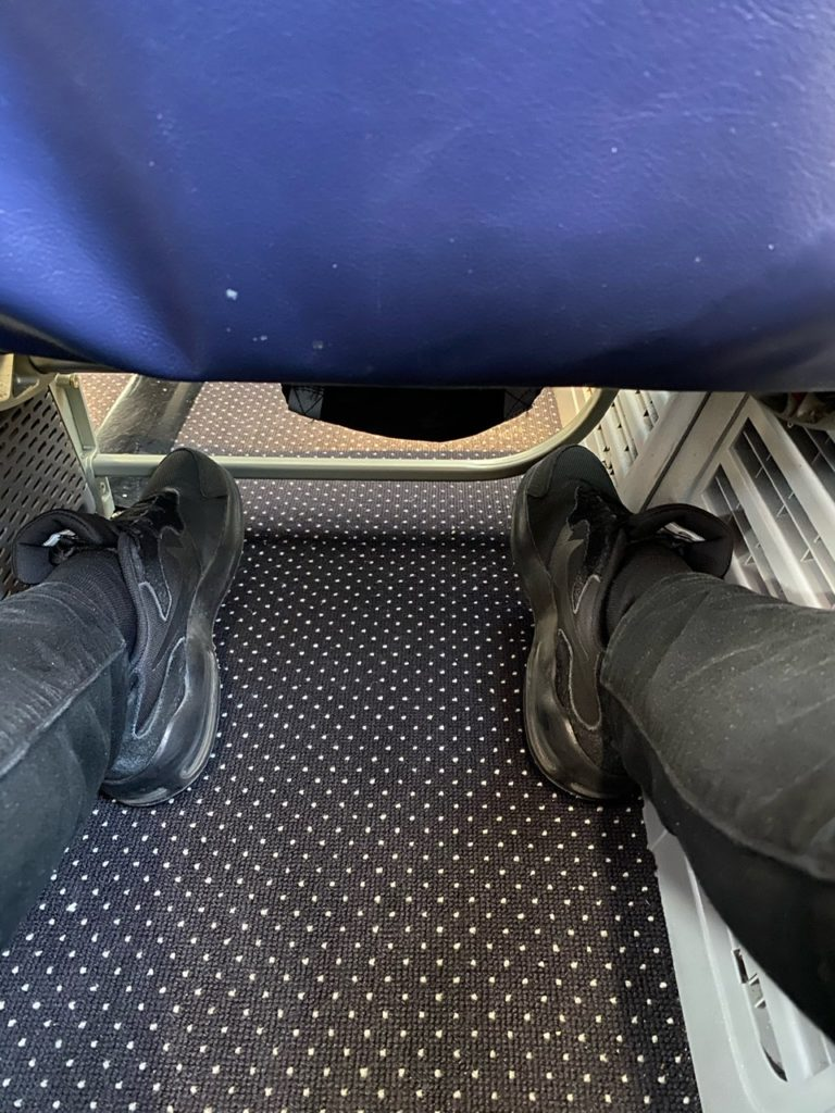 Legroom on Tui 737 from Gran Canaria