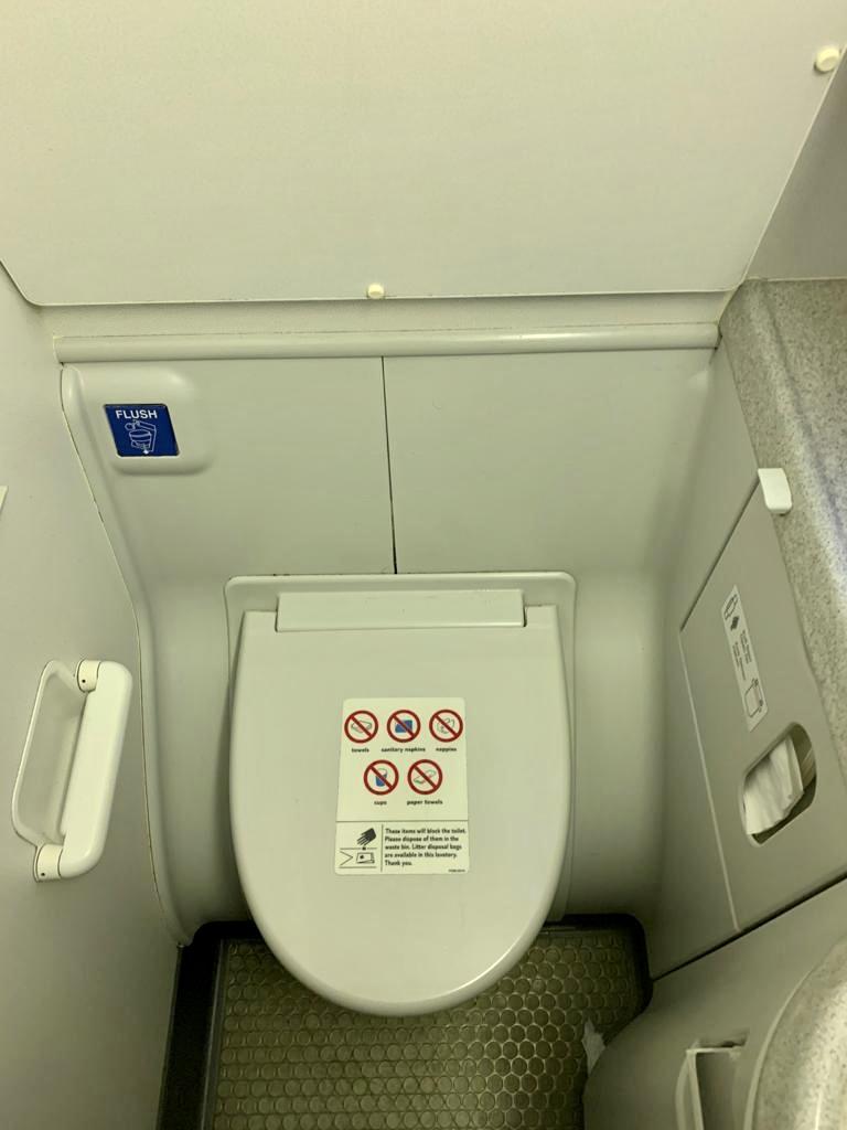 Washroom on TUI 737-800