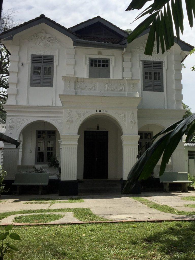 Colonial house, Kuala Lumpur, Malaysia