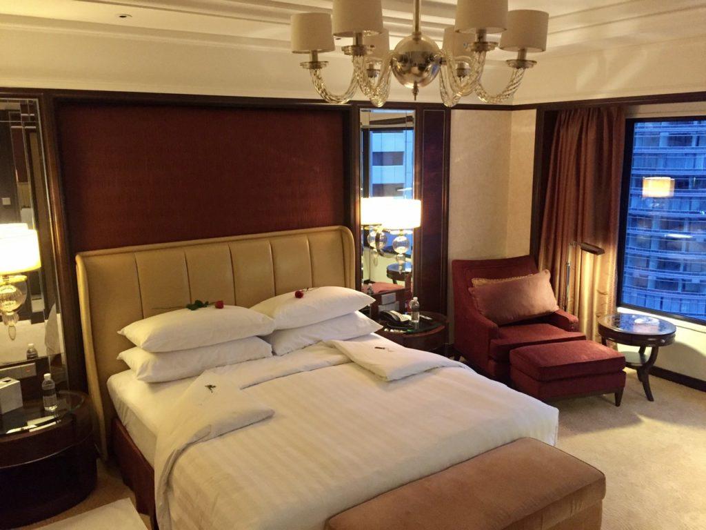 Our room at the Shangri-La, Kuala Lumpur