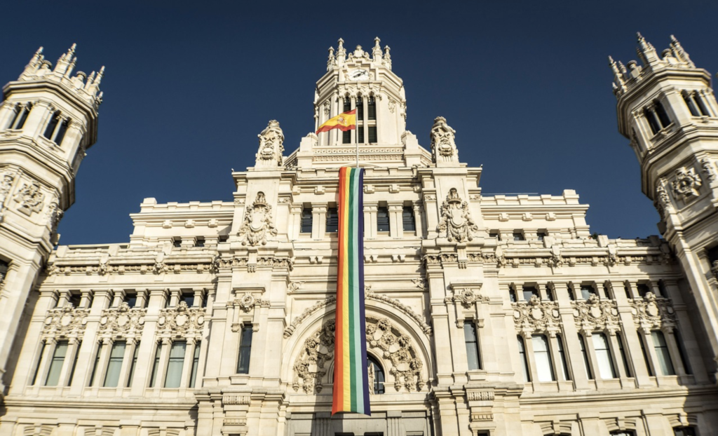 Pride, Madrid, Spain