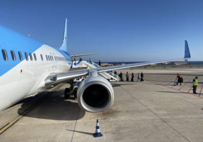 TUI 737-800 at Gran Canaria Airport