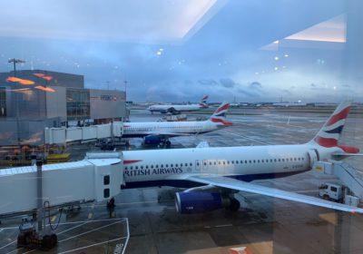 BA Planes at Gatwick